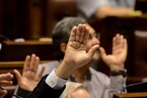Sesión de la Cámara de Diputados. Foto: Santiago Mazzarovich/adhocFotos